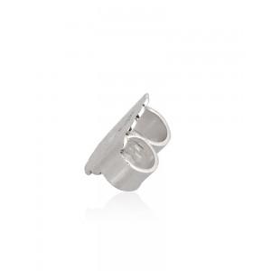 Sterling Silver 925 heavy Ear Clutch