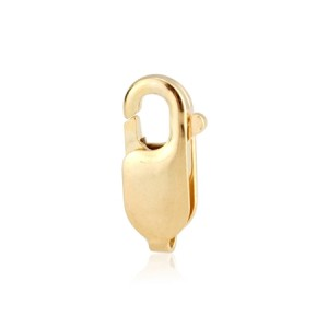 9K Yellow Gold Lobster clasp, 8.4 mm, without ring