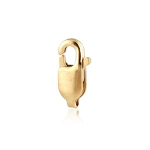 9K Red Gold Lobster clasp, 10.1mm, without ring