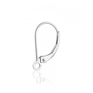 Sterling Silver 925 Kidney Ear Wires Silver Wires