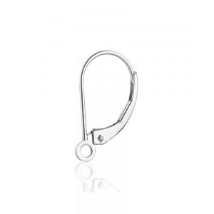 Sterling Silver 925 Kidney Ear Wires