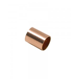 Gold Filled Red Cut Tube 5mm, external diameter 4mm, wall 0.3mm