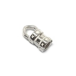 Sterling Silver 925 Crimping End Cap I/D 3.2mm