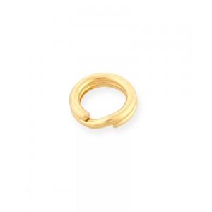 Gold Filled Yellow Split Ring 5mm Gold Filled Split Rings