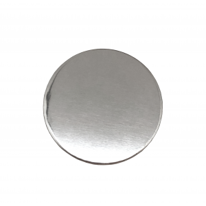 Sterling Silver 925 Round Disc, 50mm x 0.5mm