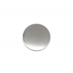 Sterling Silver 925 Round Disc, 10mm x 1mm