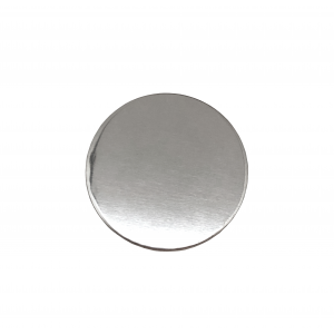 Sterling Silver 925 Round Disc, 15mm x 1mm