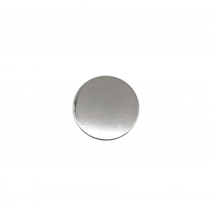 Sterling Silver 925 Round Disc, 5mm x 1mm