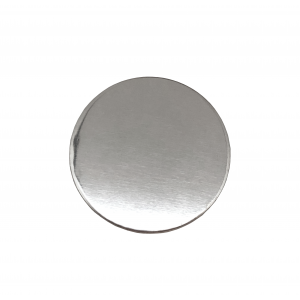 Sterling Silver 925 Round Disc, 20mm x 1mm