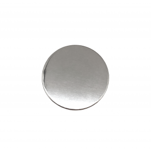 Sterling Silver 925 Round Disc, 12mm x 1mm