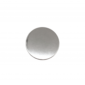 Sterling Silver 925 Round Disc, 19mm x 0.5mm