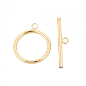 G.F 5% 14K LARGE TOGGLE CLASP