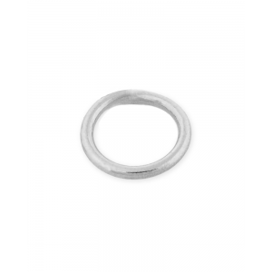 Sterling Silver 925 Soldered Round Jump Ring 5mm, wire 0.8mm Silver Soldered Jump Rings