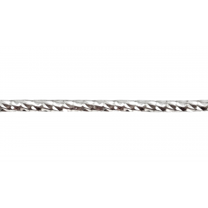 Sterling Silver 925 Twisted Diamond Round wire 2.0mm