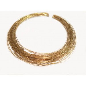 Gold Filled 5% 12K Solder Wire, Yellow