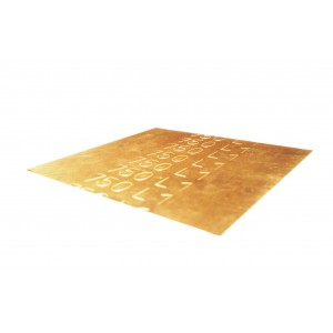 18K Gold Solder Sheet, Medium, Yellow