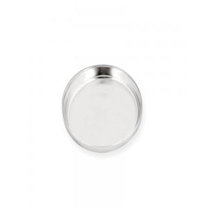 Sterling Silver 925 Oval Bezel Cup 8 x 10mm
