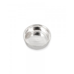 Sterling Silver 925 Round Bezel Cup 3mm