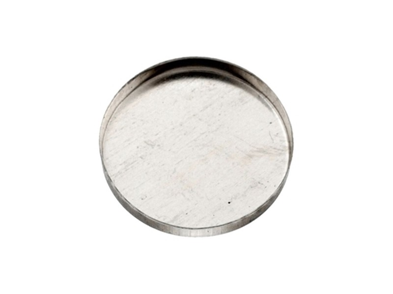 Sterling Silver 925 Round Bezel Cup 25mm