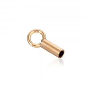 Gold Filled End Cap inside D 1.0mm