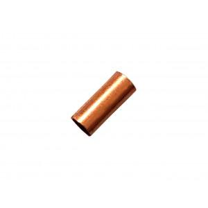 Gold Filled Red Cut Tube 5mm, external diameter 2mm, wall 0.3mm