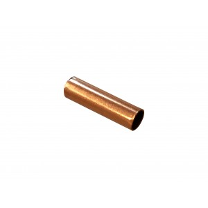 Gold Filled Red Cut Tube 10mm, external diameter 3mm, wall 0.3mm