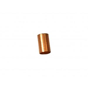 Gold Filled Red Cut Tube 5mm, external diameter 3mm, wall 0.3mm