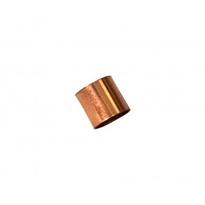 Gold Filled Red Cut Tube 5mm, external diameter 5mm, wall 0.3mm