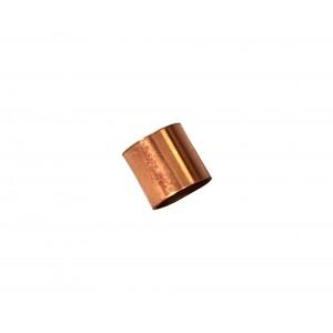 Gold Filled Red Cut Tube 5mm, external diameter 5mm, wall 0.3mm