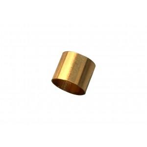 Gold Filled Yellow Cut Tube 5mm, external D 6mm, wall 0.3mm Gold Filled Cut Tube