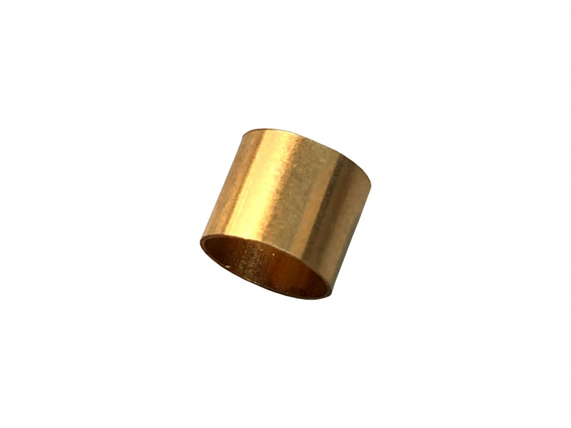 Gold Filled Yellow Cut Tube 5mm, external diameter 6mm, wall 0.3mm