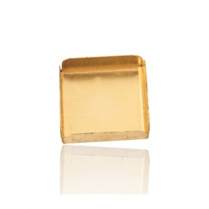 Gold Filled Square Bezel Cup 12mm