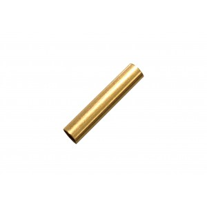 Gold Filled Yellow Cut Tube 15mm, external diameter 3mm, wall 0.3mm