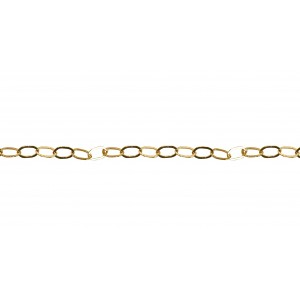 GOLD FILLED FLAT DRAWN CABLE CHAIN