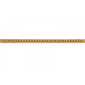Gold Filled Small Chunky Curb Chain, 2.4 x 2.8 mm, 0.7 mm wire Gold Filled Curb Chain