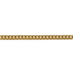 Gold Filled Small Open Curb Chain, 3.5 x 4.7 mm, 0.9 mm wire