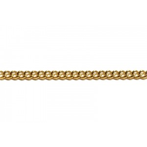 Gold Filled Small Open Curb Chain, 3.5 x 4.7 mm, 0.9 mm wire Gold Filled Curb Chain