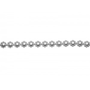 Silver 935 Ribbon / Gallery Strip, 1358H