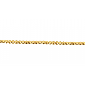 Gold Filled Pearl wire 1.30mm GOLD FILLED RIBBON, GALLERY WIRE  & PEARL WIRE