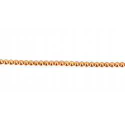 Gold Filled Pearl Wire Red 1.50mm