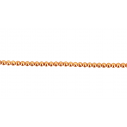 Gold Filled Pearl Wire Red 1.00mm