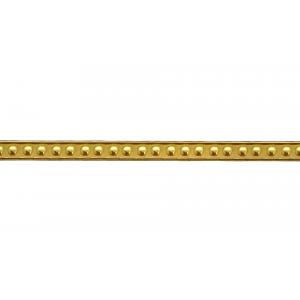 Brass Ribbon / Gallery Strip, 536H BRASS RIBBON, FANCY GALLERY WIRE