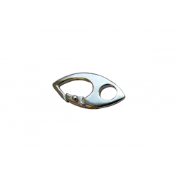 Sterling Silver 925 Fancy Trigger Clasp 18.5mm x 9mm