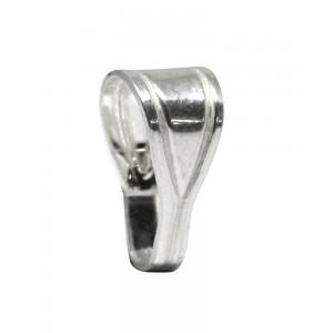 Sterling Silver 925 Clip Bail / Locket Bail 11.9mm x 5.9mm