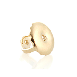 10K Yellow Gold Screw Earring Backs for 6100003 posts