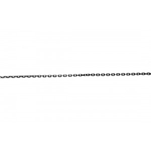 Sterling Silver 925 Oxidised Diamond cut Trace Chain Trace