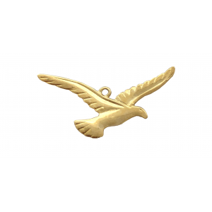 Gold Filled Eagle Pendant, 12.8 x 25.8mm, 0.7mm thickness