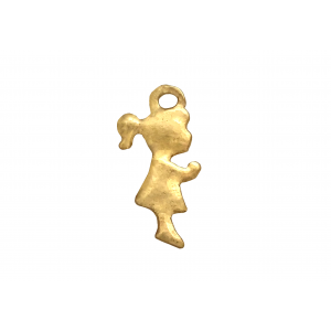Gold Filled Girl, 5 x 14mm, 1.2mm thickness Gold Filled Tags, Discs & Other