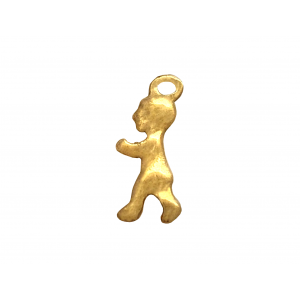 Gold Filled Boy Charm, 6 x 15.6mm, 1.3mm thickness