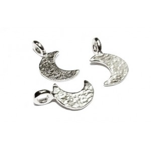 Gold Filled Moon Charm, 6 x 10.5mm